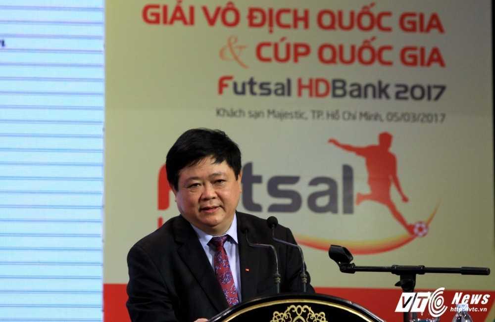 VOV dong hanh cung VFF to chuc giai Futsal VDQG HDBank 2017 hinh anh 2
