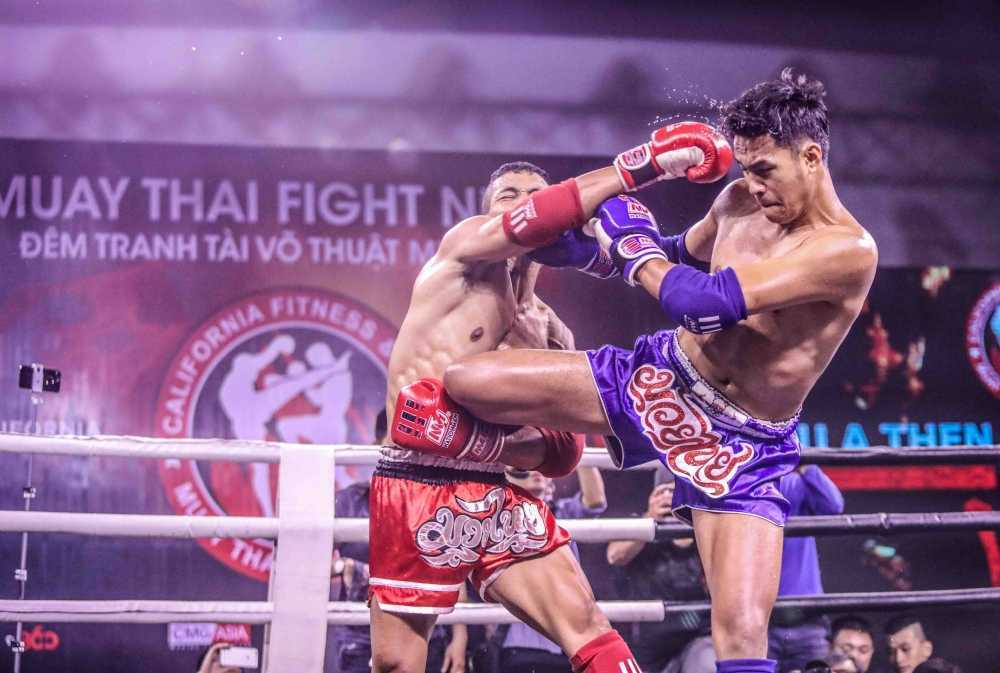Nhung cu don man nhan trong su kien 'Muay Thai Fight Night' o TP.HCM hinh anh 3