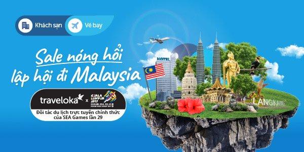 Tan huong SEA Games bang loat uu dai du lich tu Traveloka hinh anh 1