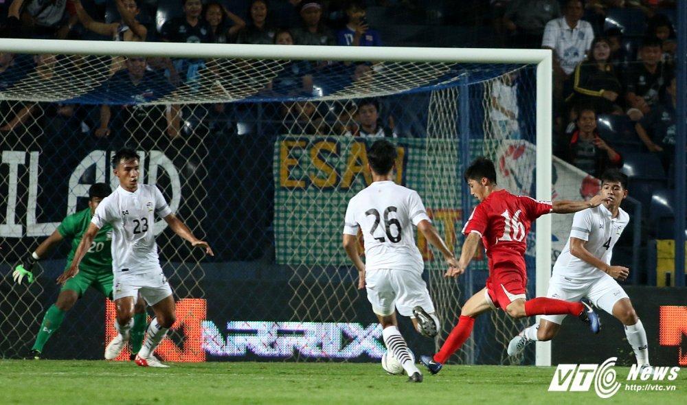 U23 Thai Lan 0-1 U23 Trieu Tien: Ban thang sap dat cuoc doi dau dinh menh hinh anh 11