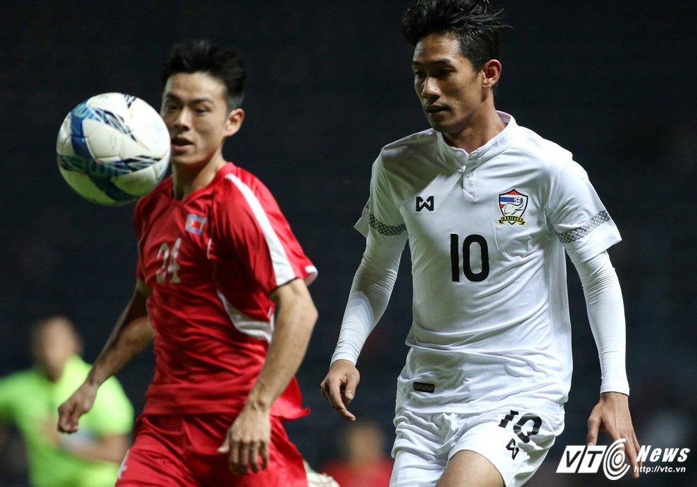 U23 Thai Lan 0-1 U23 Trieu Tien: Ban thang sap dat cuoc doi dau dinh menh hinh anh 4