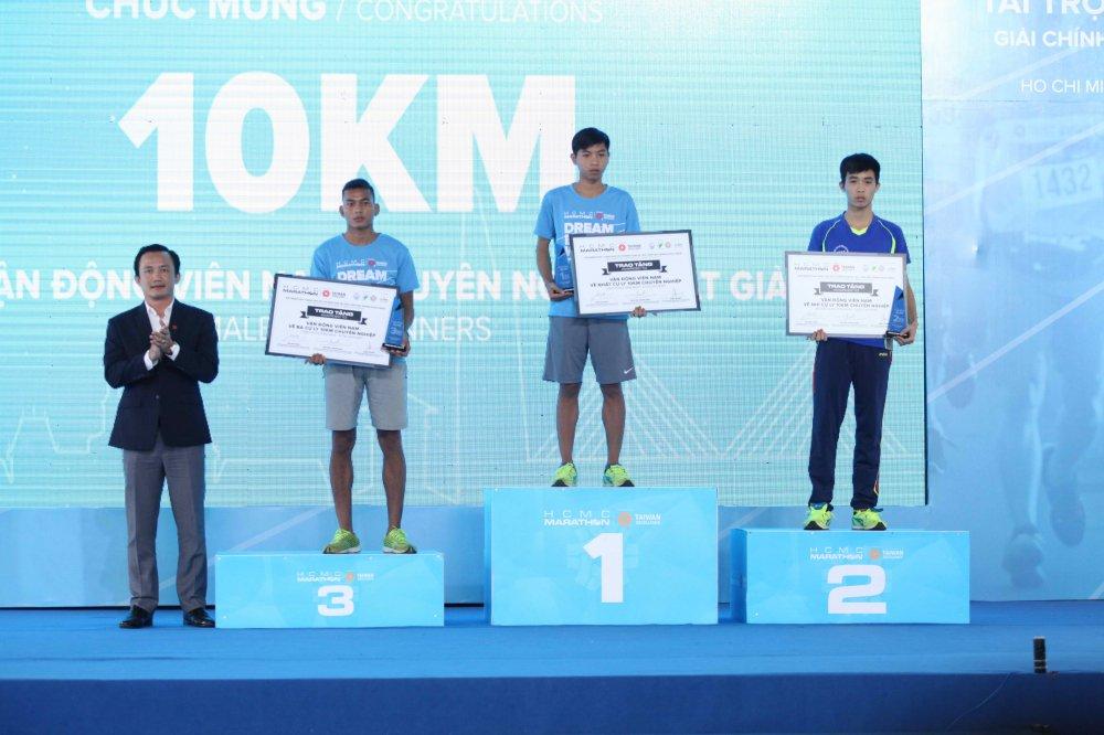 A hau Duong Tu Anh tranh tai giai Marathon TPHCM 2018 hinh anh 3