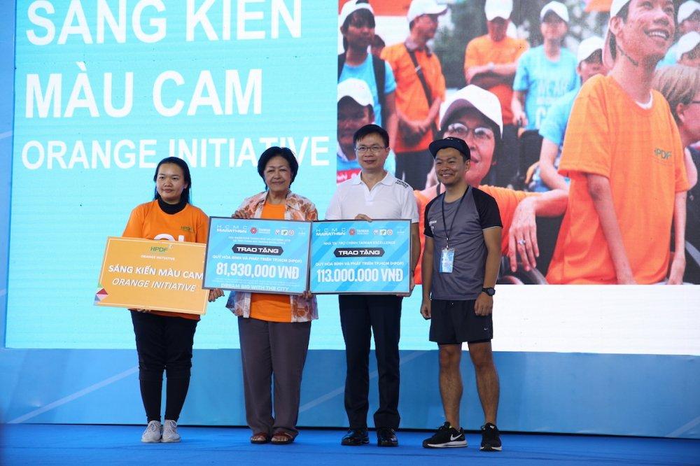 A hau Duong Tu Anh tranh tai giai Marathon TPHCM 2018 hinh anh 1