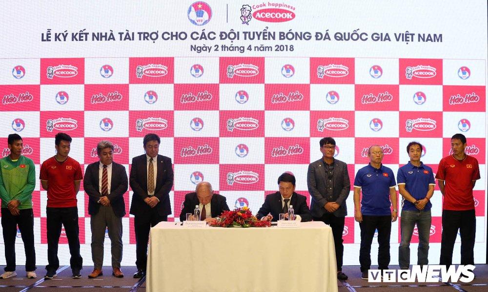 U23 Viet Nam thanh cong, VFF don them tai tro khung hinh anh 1