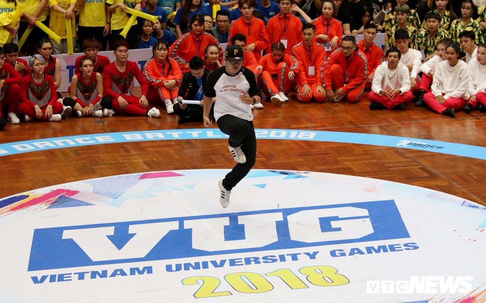 Anh: Nhung bai nhay cuc dep tai Dance Battle VUG 2018 hinh anh 7