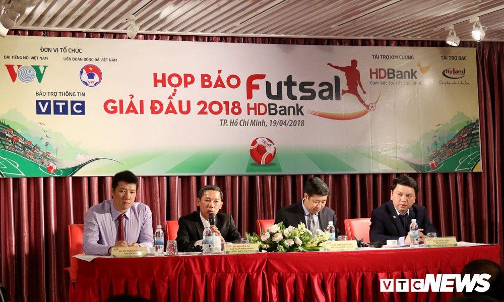 Giai Futsal HDBank VDQG 2018: 2 diem nhan khong the bo qua hinh anh 1