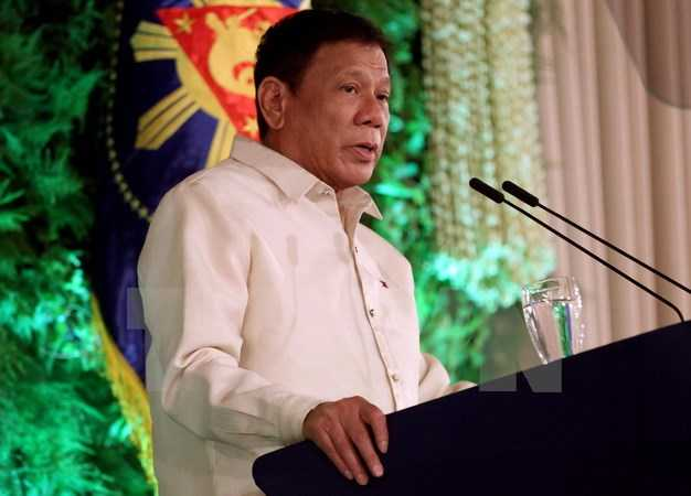 Tong thong Philippines doa 'dung do dam mau' neu Trung Quoc xam pham chu quyen hinh anh 1