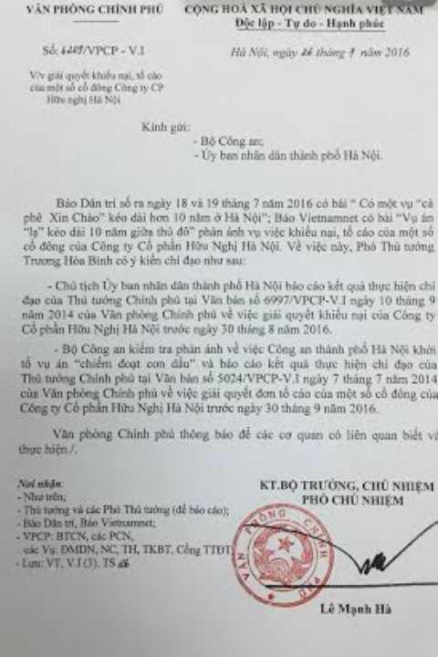 Pho Thu tuong chi dao kiem tra vu an 'la' keo dai 10 nam o Ha Noi hinh anh 1