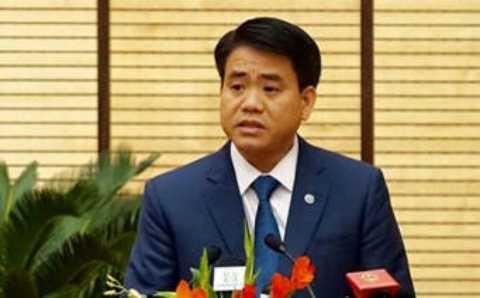Chu tich Nguyen Duc Chung tra loi chat van cua dai bieu Hoi dong Nhan dan hinh anh 1