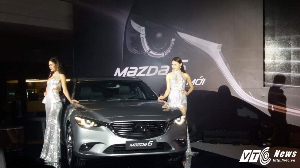 Xe Mazda6 moi 'de doa' Camry hinh anh 1