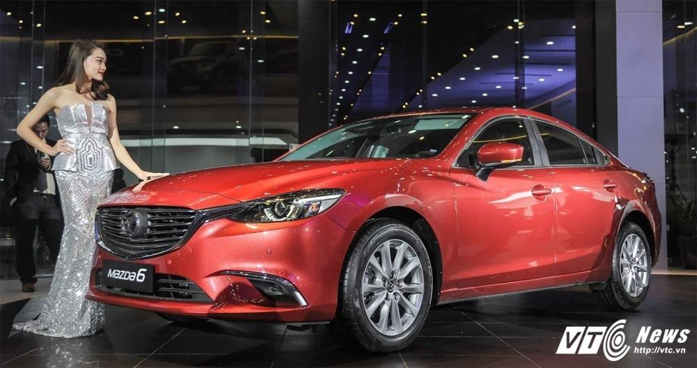 Xe Mazda6 moi 'de doa' Camry hinh anh 2