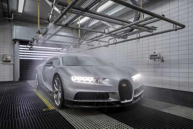 Kham pha qua trinh che tac sieu xe 'trieu do' Bugatti Chiron hinh anh 9
