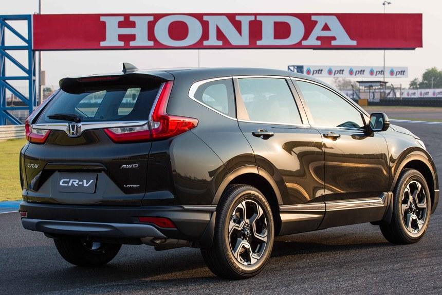 Honda CR-V 2017 ban tai Viet Nam gia bao nhieu? hinh anh 2