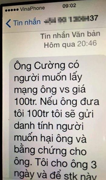 Chanh van phong Doan dai bieu Quoc hoi Quang Tri bi de doa, tong tien hinh anh 1