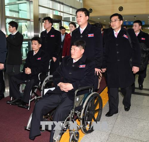 Paralympic PyeongChang 2018: Hai mien Trieu Tien khong dieu hanh chung trong le khai mac hinh anh 1