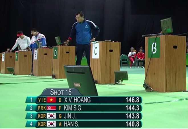 Bang tong sap huy chuong Olympic ngay 5: Hoang Xuan Vinh gianh HCB, Viet Nam len hang 16 hinh anh 1