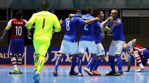 World Cup Futsal: Viet Nam xep dau bang cung Italia hinh anh 1