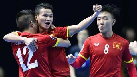 World Cup Futsal: Viet Nam xep dau bang cung Italia hinh anh 2