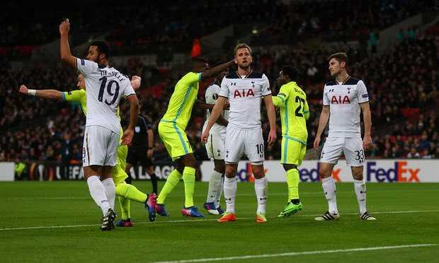 Tong hop Europa League: Ngay khon kho cua Tottenham, Zenit hinh anh 1