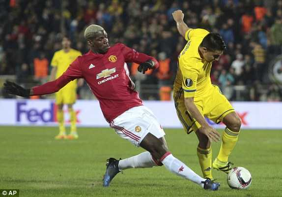 Video Rostov vs MU: Mourinho so thua, MU nhoc nhan cam hoa Rostov hinh anh 1