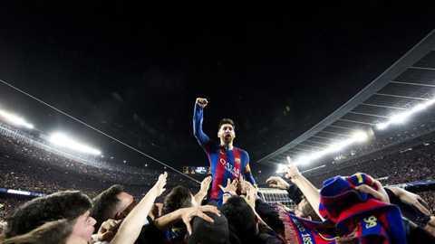 55 trieu luot xem khoanh khac Messi an mung chien tich ha PSG hinh anh 1