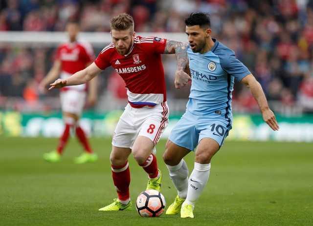Nhe nhang ha Middlesbrough, Man City vao ban ket FA Cup hinh anh 1