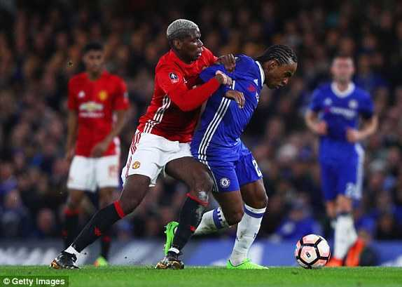 Video Chelsea vs MU: Ander Herrera nhan the do, MU thua dau Chelsea hinh anh 1