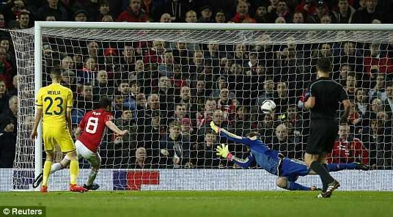 Juan Mata ghi ban, MU tien vao tu ket Europa League hinh anh 2