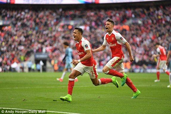 Video ket qua Arsenal vs Man City: Thang hiep phu, Arsenal vao chung ket gap Chelsea hinh anh 4