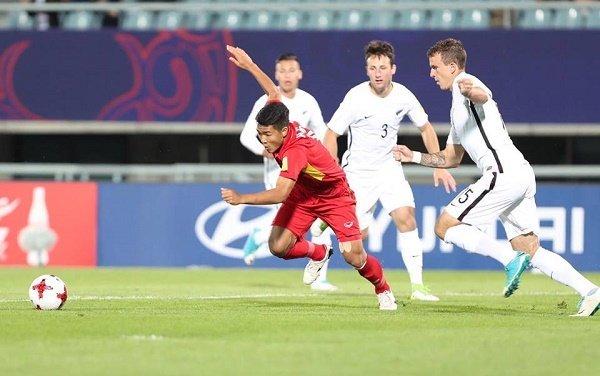 FIFA chuc mung U20 Viet Nam voi 1 diem lich su truoc New Zealand hinh anh 1