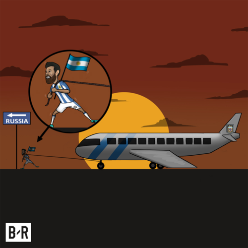 Bao the gioi: Messi la 'sieu nhan', keo ca doi Argentina den World Cup 2018 hinh anh 3
