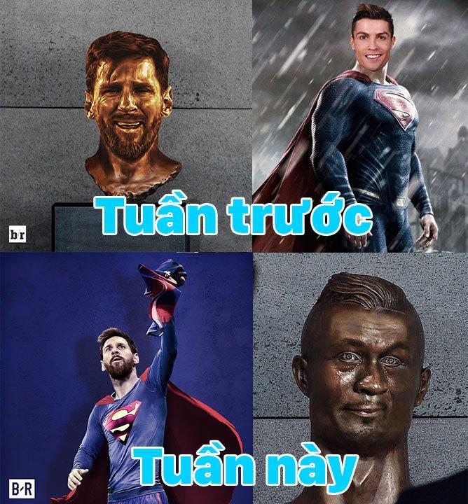 Bao the gioi: Messi la 'sieu nhan', keo ca doi Argentina den World Cup 2018 hinh anh 7