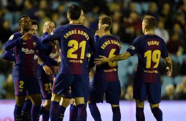 Video ket qua Celta Vigo 1-1 Barca: Vang Messi, Barca gap kho hinh anh 1