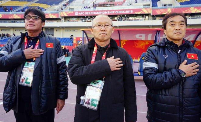 U23 Viet Nam thang tran lich su: Tuyet voi ngon lua cua thay Park Hang Seo hinh anh 1