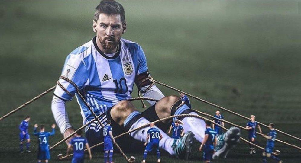 Messi mo nhat truoc Iceland: Thien tai guc nga vi san si hinh anh 3