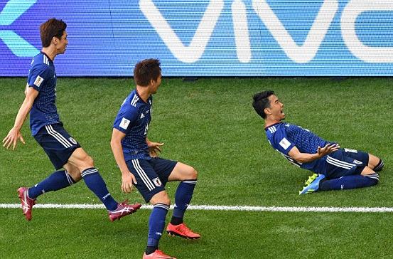 Quat nga Colombia, Nhat Ban tao con dia chan thu hai tai World Cup 2018 hinh anh 1