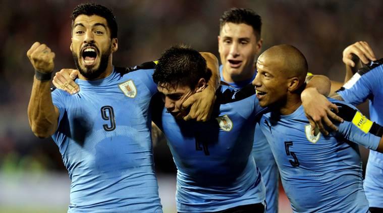 Video ban thang Uruguay vs A Rap Xe Ut, Bang A bong da World Cup 2018 hinh anh 16