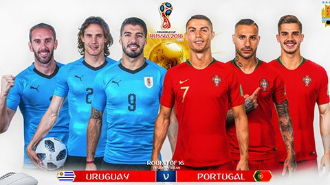 Nhan dinh Uruguay vs Bo Dao Nha: Khi phong ngu gap thuc dung hinh anh 1