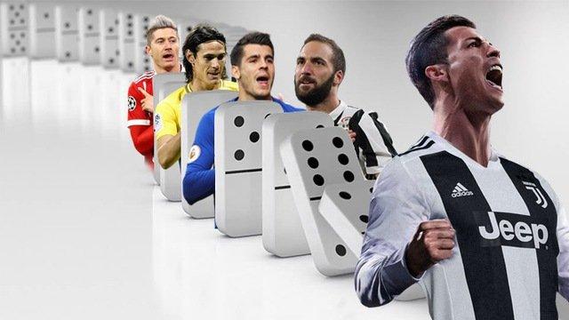 Ronaldo sang Juventus: Chuoi domino ky luc chuyen nhuong bat dau do hinh anh 1