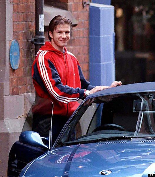 Anh: Ngam dan xe dep me li cua David Beckham hinh anh 2
