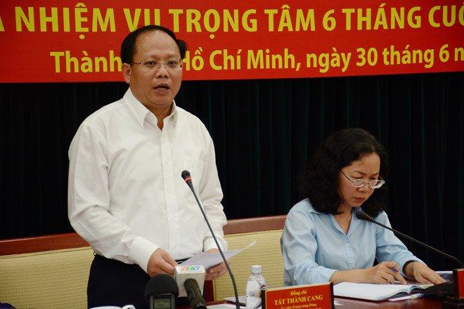 Yeu cau kiem diem trach nhiem cua Pho bi thu thuong truc TP.HCM Tat Thanh Cang hinh anh 1