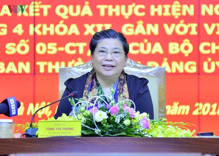 Doan kiem tra cua Bo Chinh tri lam viec voi Ban Thuong vu Dang uy VOV hinh anh 4