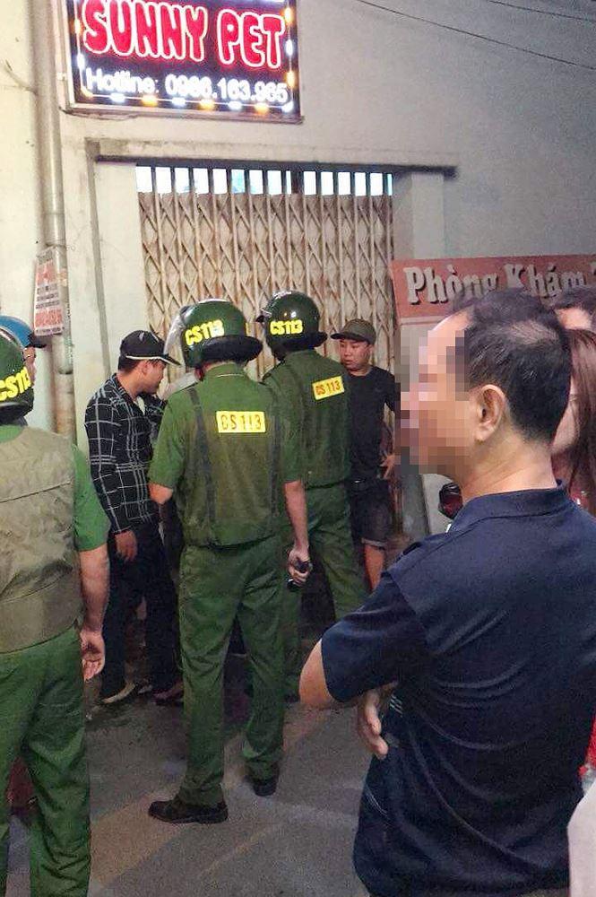 Cong an tam giu 3 doi tuong hanh hung bac si o Dong Nai hinh anh 1