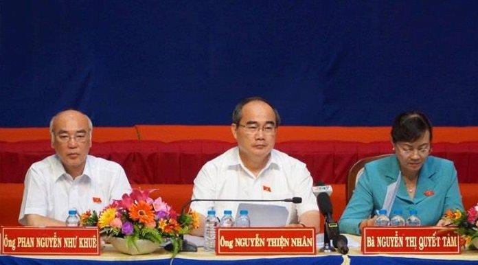Ong Nguyen Thien Nhan: Dat ngoai ranh quy hoach Thu Thiem thi khong phai di doi hinh anh 1