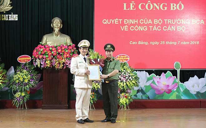 Cong an tinh Cao Bang co giam doc moi hinh anh 1