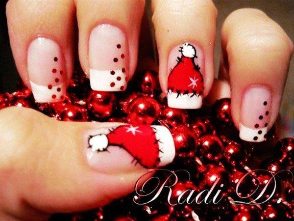 15 mẫu nail Giáng sinh ngọt ngào, tuyệt đẹp cho bạn gái 11