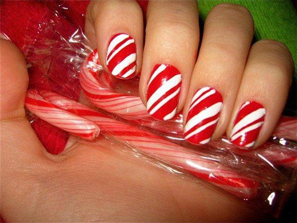 15 mẫu nail Giáng sinh ngọt ngào, tuyệt đẹp cho bạn gái 10