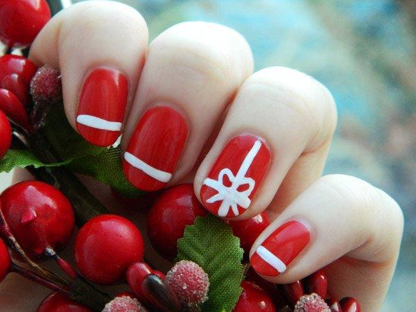15 mẫu nail Giáng sinh ngọt ngào, tuyệt đẹp cho bạn gái 14
