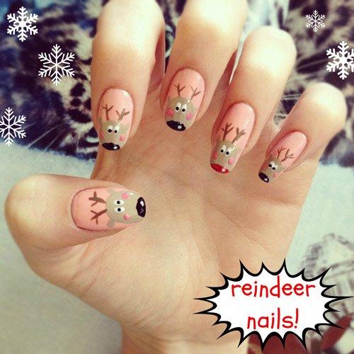 15 mẫu nail Giáng sinh ngọt ngào, tuyệt đẹp cho bạn gái 13