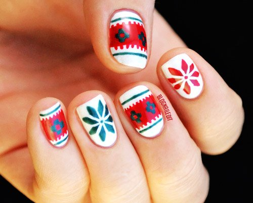 15 mẫu nail Giáng sinh ngọt ngào, tuyệt đẹp cho bạn gái 7